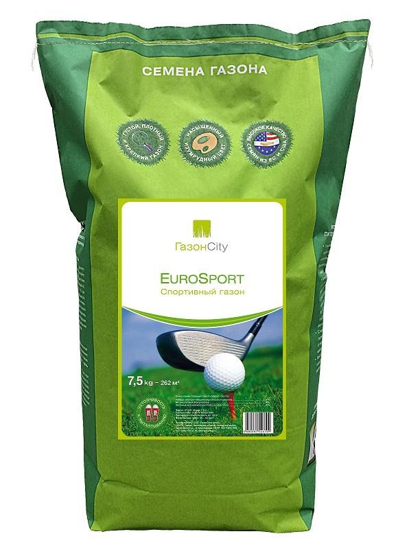 Семена травы для газона EuroSport 7,5 кг.